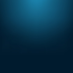 Abstract blurred gradient mesh background in dark blue colors. S