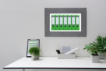Arbeitsplatz, Büro, Homeoffice, Desktop, modern