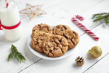 Cookies and Milk for Santa.