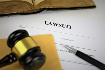 An Image of lawsuit