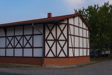ein altes Fachwerkhaus