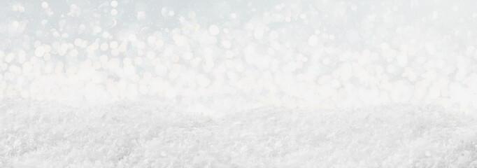 blau graue schneelandschaft