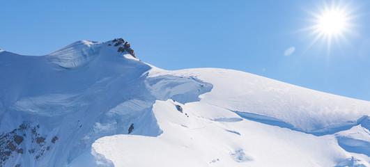 Verschneite Berge