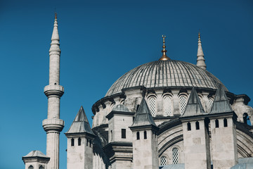 Istanbul, Turkey. Mosque Sultanahmet Camii.