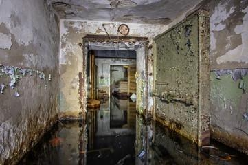 Abandoned Soviet bomb shelter