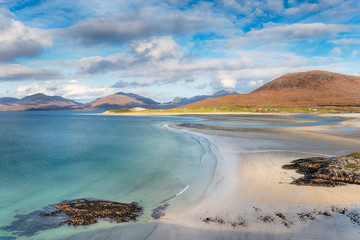 Fototapete - The View from ..Seilebost on the Isle of Harris