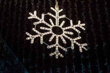 Christmas decorations, snowflake