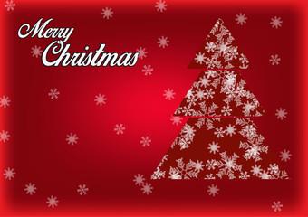 Snowflake. Christmas and winter theme.