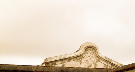 the old roof