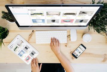 online shop overhead devices