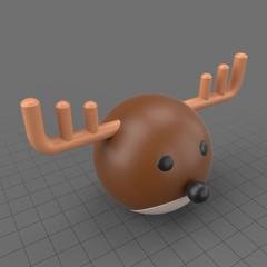 Round reindeer