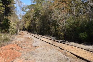 Mississippi Central Railroad in Abbeville Mississippi
