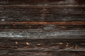 Wood texture, old, wooden boards, brown color. Wooden background.