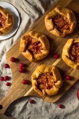Sweet Homemade Apple Cranberry Tart