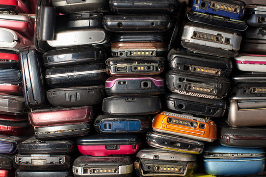 Many old mobile phones are technologically outdated