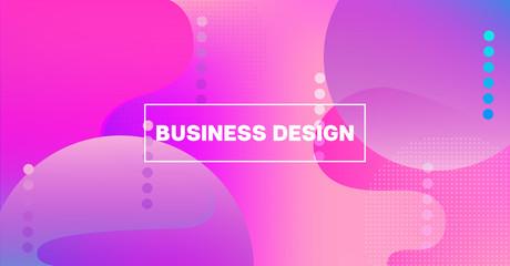 Bright Neon Gradient Overlay Futuristic Vector Pattern. Simple Main Web Page Iridescent Geometric Design. Fluid Color Retro Tech Glitch Circles Cover. Festival Poster Business Internet Background.