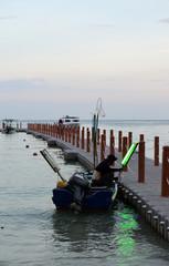 pêcheur en Thaïlande