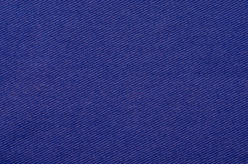 Blue fabric texture textile cloth material blur background macro