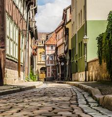 Altstadtgasse in Quedlinburg