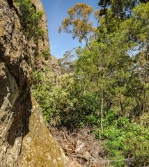 Hanging rock-a mystical place in Australia, Victoria