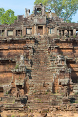 Baphuon Temple  with clear blue sky, UNESCO site in Cambodia