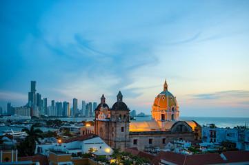 Cityscape, Cartagena de Indias, Colombia.