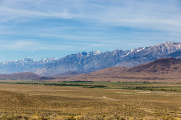 Scenic view in Mammoth Lakes Area USA