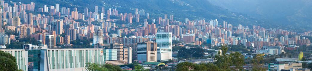 Cityscape of Medellin, Colombia