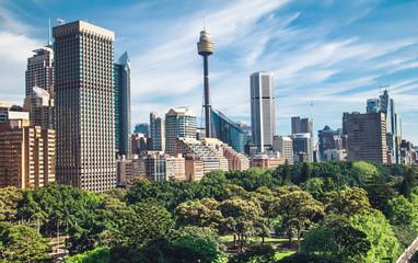 Canvas Prints Sydney Sydney Australia skyline