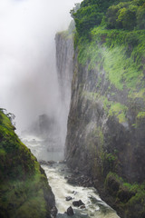 Crevice of the falls