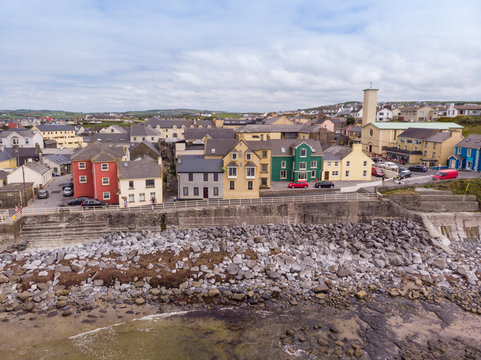 Aerial View of Lahinch