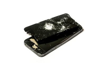 Damage smart phone