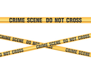 Crime Scene Do Not Cross vector - fototapety na wymiar