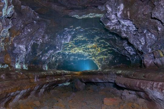 Kaumana Lava Tube Cave, Island of Hawai'i