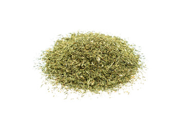 Pile of dried dill