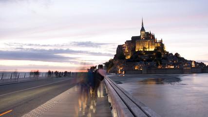 Mont Saint Michel,Normandia,Francia