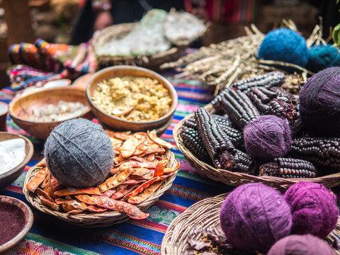 Traditonal craft from Chinchero