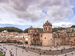The Cathedral and Plaza de Armas of Cusco