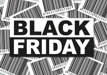 Concept marketing du Black Friday, avec la promotion et la consommation concentré sur une journée.