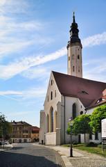 Europa, Deutschland, Sachsen, Oberlausitz, Landkreis Görlitz, Sechsstadt Zittau, Klosterkirche St. Peter und Paul, ehemaliges Franziskanerkloster, Franziskanerklosterkirche