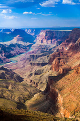 sunset at Grand canyon in Arizona