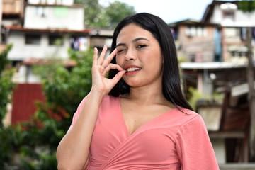 Okay Filipina Female Woman