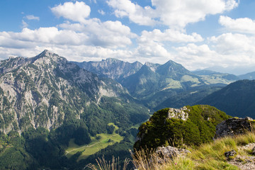Bergpanorama mit Rinnkogel und Postalm