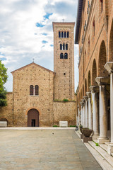 View at the Basilica of San Francesco in Ravenna - Italy