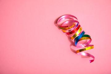 holiday colorful ribbons