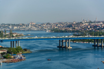 view of the city istanbul