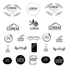 POTOGRAPHER WEDDING logo design