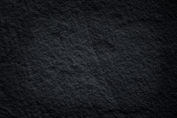Black slate stone patterns or dark grey stone texture natural abstract on background