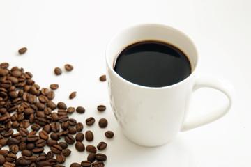 コーヒーと豆