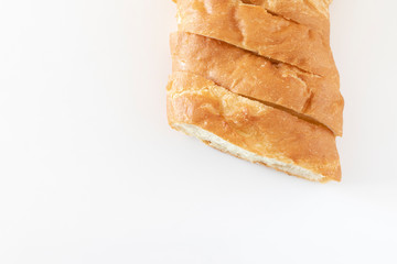 スライスしたフランスパン